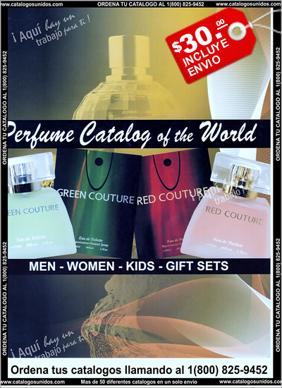 Catalogo de Perfumes 2014