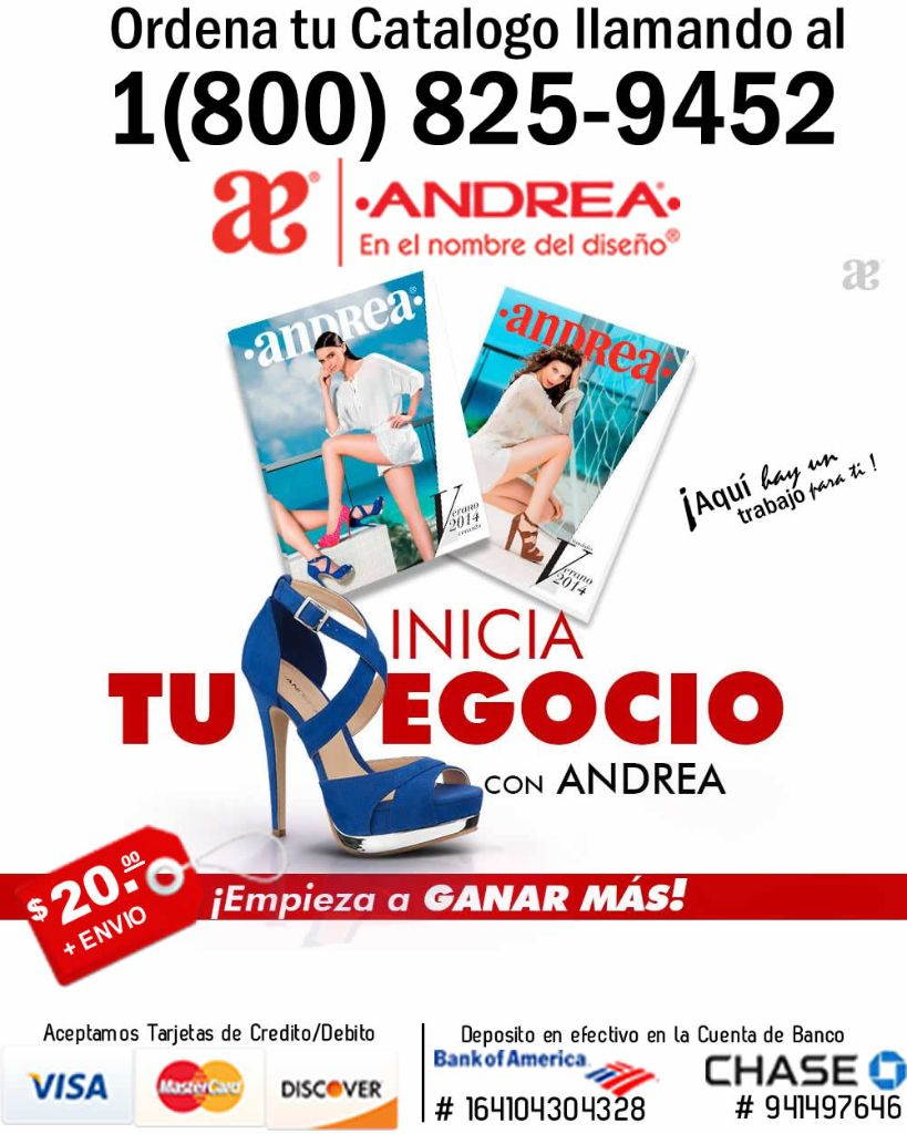 Venta Por Catalogo Zapatos Andrea