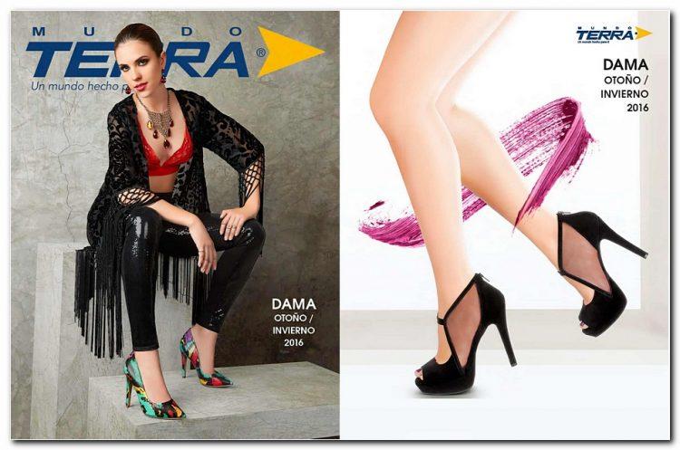 Catálogo de Calzado DAMA Mundo Terra Colección Otoño Invierno 2016
