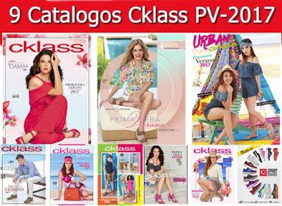Catalogos Cklass Primavera Verano 2017