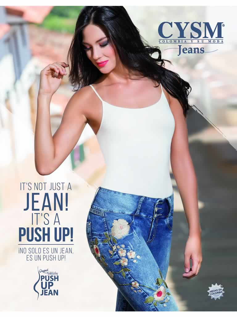 Push Up Jeans