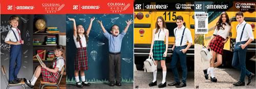 Andrea: Catalogo de Calzado Colegial Teens y Kids 2017 1