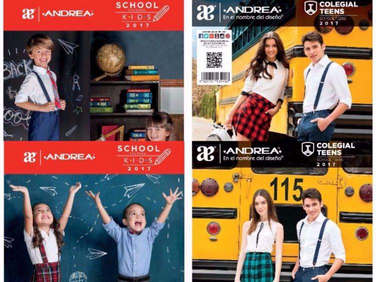 Andrea: Catalogo de Calzado Colegial Teens y Kids 2017