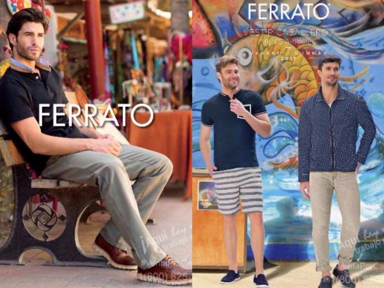Catalogo Andrea Ferrato Caballero Moda 2017