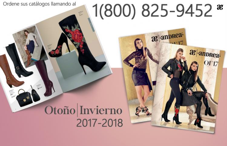 Andrea | Catalogos Oficiales USA | 2017 – 2018