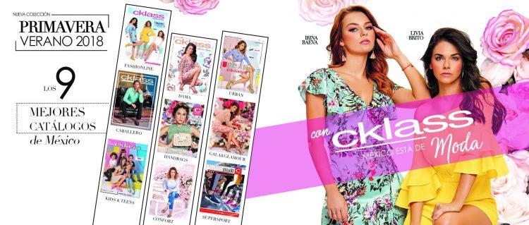 Cklass 2018 | Nuevos Catalogos Primavera Verano 2018