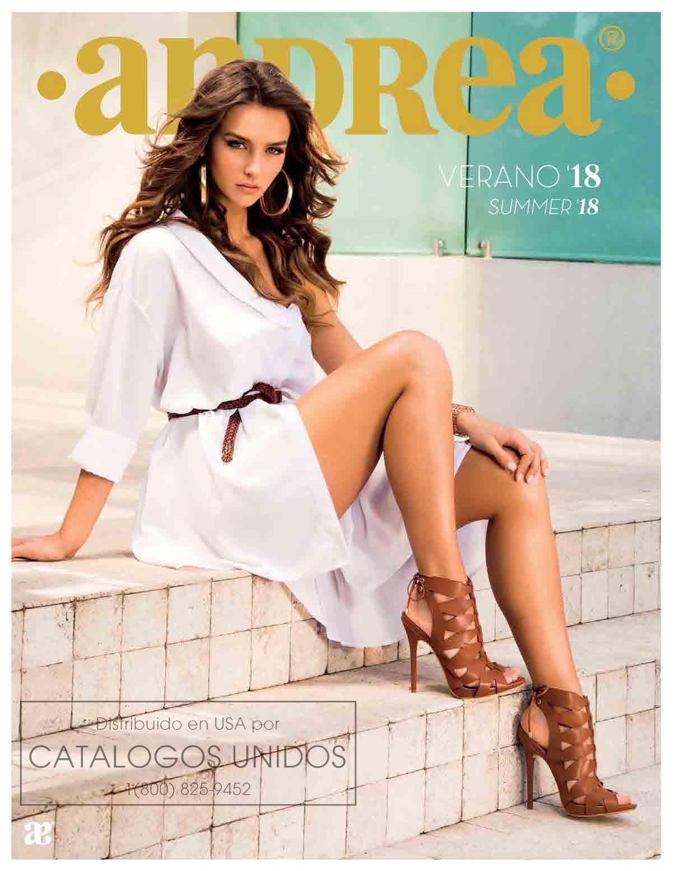 Cat logos andrea primavera verano 2018 for Zapatos por catalogo